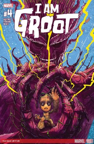 I Am Groot # 4 Issues (2017)