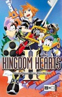 couverture, jaquette Kingdom Hearts II 3 Allemande (Egmont manga)