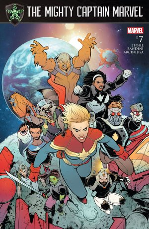 The Mighty Captain Marvel # 7 Issues (2016 - 2017)