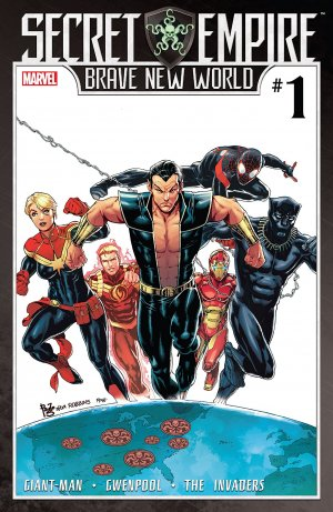 Secret Empire - Brave New World édition Issues (2017)