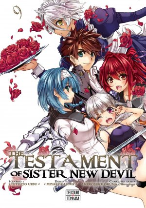 The testament of sister new devil #9
