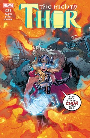 The Mighty Thor # 21 Issues V2 (2015 - 2018)