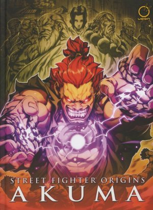 Street Fighter Origins - Akuma édition TPB hardcover (cartonnée)
