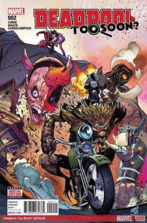 Deadpool - Trop tôt # 2 Issues