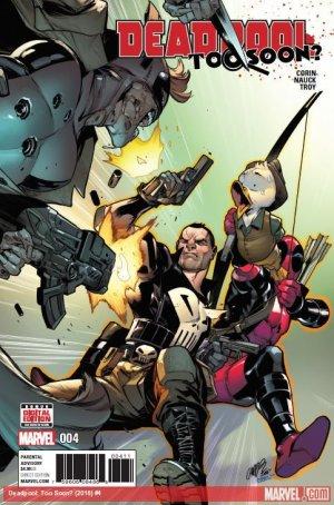 Deadpool - Trop tôt # 4 Issues