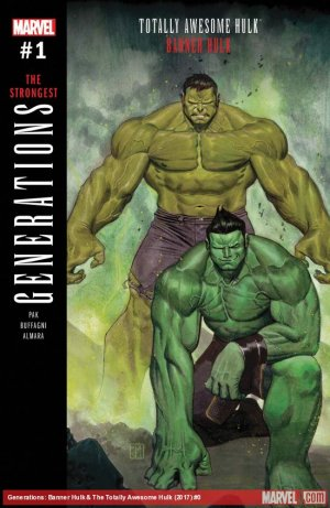 Generations - Banner Hulk And The Totally Awesome Hulk # 1 Issue (2017)