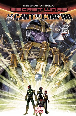 Secret Wars - Le gant de l'infini édition TPB hardcover - Issues Infinity Gauntlet V2