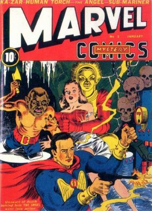 Marvel Mystery Comics # 3