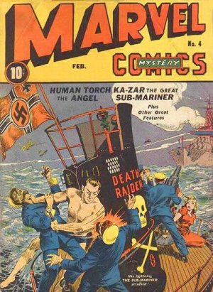 Marvel Mystery Comics 4