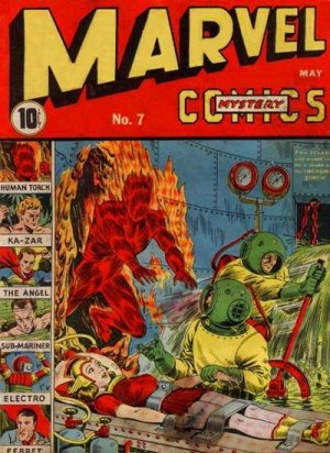 Marvel Mystery Comics # 7 Issues (1939 - 1949)
