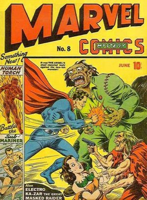 Marvel Mystery Comics # 8 Issues (1939 - 1949)