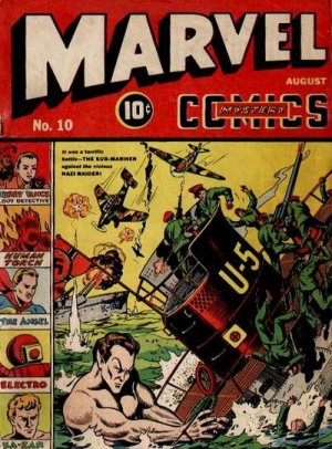 Marvel Mystery Comics # 10 Issues (1939 - 1949)