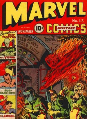 Marvel Mystery Comics # 13 Issues (1939 - 1949)