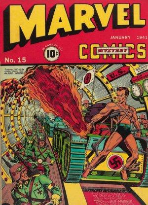 Marvel Mystery Comics # 15