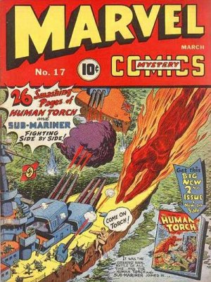 Marvel Mystery Comics 17