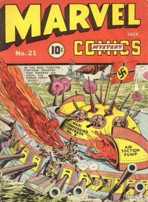 Marvel Mystery Comics # 21