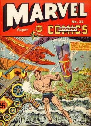 Marvel Mystery Comics 22