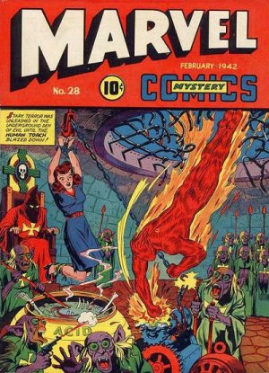 Marvel Mystery Comics # 28