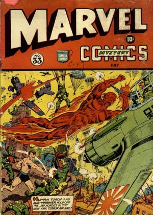 Marvel Mystery Comics # 33
