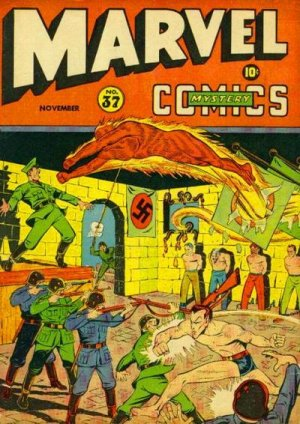 Marvel Mystery Comics # 37