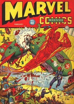 Marvel Mystery Comics # 40