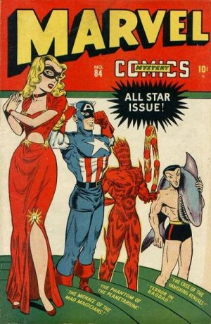 Marvel Mystery Comics # 84 Issues (1939 - 1949)