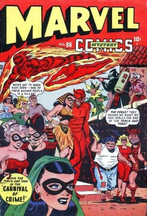 Marvel Mystery Comics # 86 Issues (1939 - 1949)