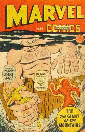 Marvel Mystery Comics # 90 Issues (1939 - 1949)