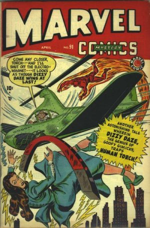 Marvel Mystery Comics # 91 Issues (1939 - 1949)