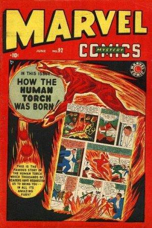 Marvel Mystery Comics # 92