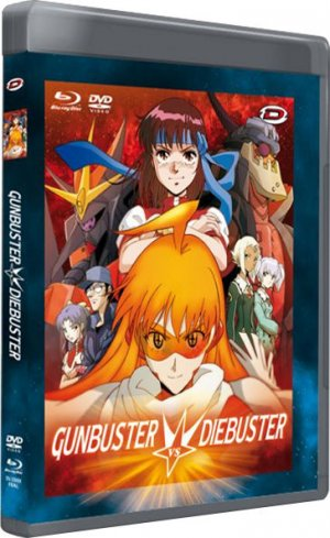 Gunbuster vs Diebuster Aim for the Top! Fusion!! édition Combo