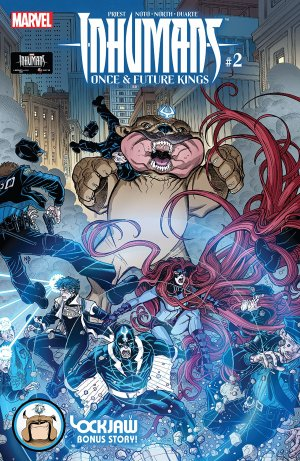 Inhumans - Once And Future Kings # 2 Issues (2017)