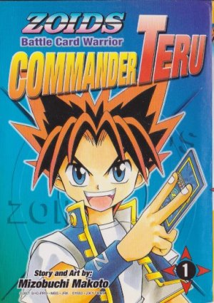 Zoids Battle Card Warrior Commander Teru édition Simple
