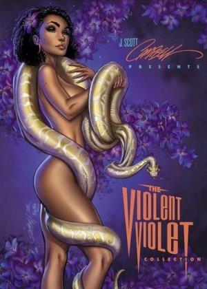 J. Scott Campbell's Artbook - The Violent Violet édition TPB hardcover (cartonnée)