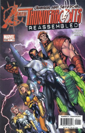 New Thunderbolts édition Issues (2005 - 2006)
