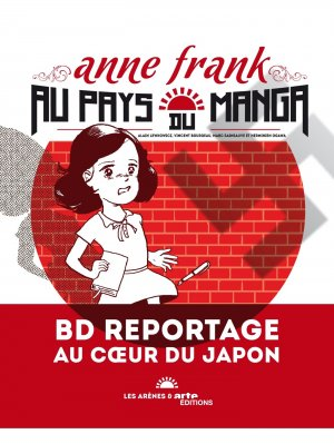 Anne frank au pays du manga édition simple