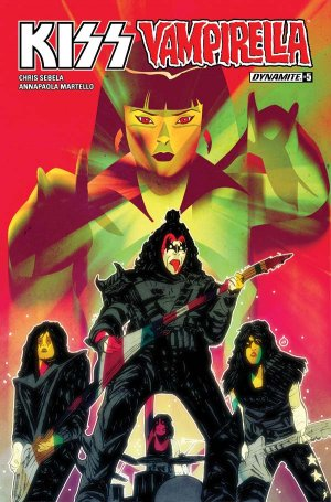 KISS / Vampirella # 5 Issues (2017)