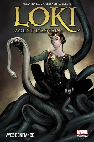 Loki - Agent d'Asgard édition TPB hardcover - Marvel Deluxe