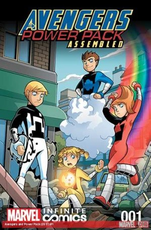 Avengers and Power Pack édition Issues (2017)