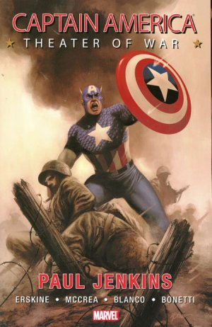Captain America - Theater of War édition TPB softcover (souple)