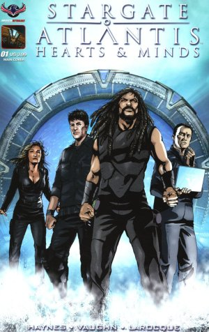 Stargate Atlantis - Hearts & Minds édition Issues (2017 - Ongoing)