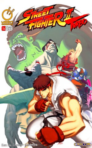 Street Fighter II Turbo édition Issues (2008 - 2010)