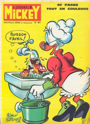Le journal de Mickey 981