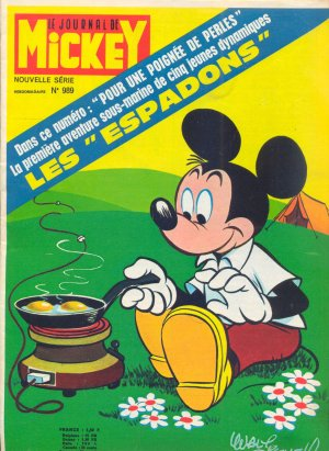 Le journal de Mickey 989