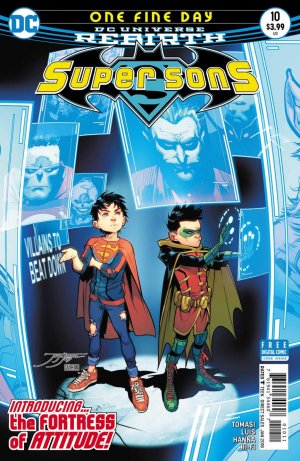 Super Sons # 10 Issues V1 (2017 - 2018)