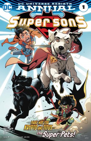 Super Sons # 1 Issues V1 - Annuals (2017)