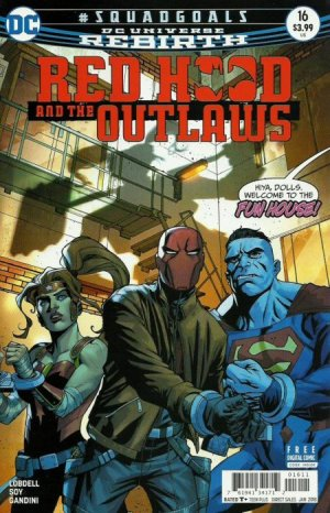 Red Hood and The Outlaws # 16 Issues V2 (2016 - Ongoing) - Rebirth
