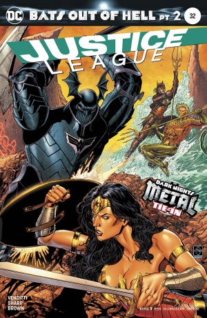 Justice League 32 - Bats out of Hell 2: Countdown to Extinction