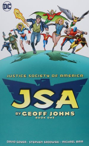 Justice Society of America by Geoff Johns édition TPB softcover (souple)