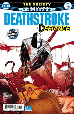 Deathstroke # 25 Issues V4 (2016 - 2019) - Rebirth